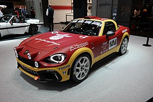 Group R-GT - Abarth 124 R-GT