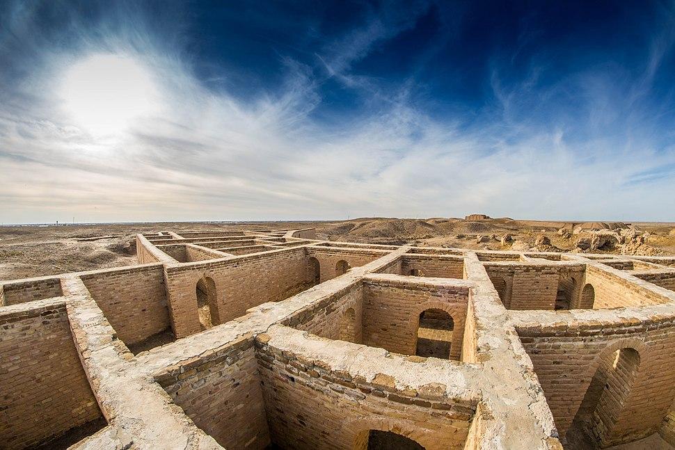 20160105-Abraham house in Ur Iraq