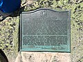 2017-07-26 12 19 11 Historical plaque on the summit of Mount Katahdin's Baxter Peak in Baxter State Park, Piscataquis County, Maine.jpg