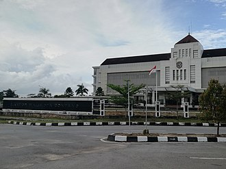 Bontang - Image: 2017 08 04 Kantor Walikota Bontang