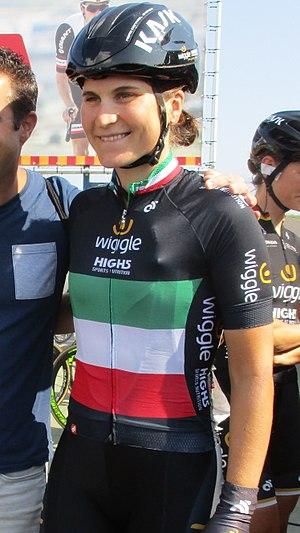 Elisa Longo Borghini - Italian champion Longo Borgini at the 2017 Holland Ladies Tour