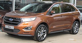 2018 Ford Edge: Facelift, Changes, Price >> Ford Edge Wikipedia