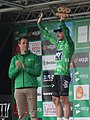 2017 Tour of Britain stage 4 race leader 145 Elia Viviani.JPG