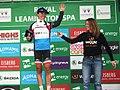 2017 Women's Tour stage 3 points leader 034 Kasia Niewiadoma.JPG