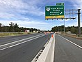 2018-10-19 14 06 15 View east along Interstate 66 at Exit 44 (Virginia State Route 234 SOUTH-Prince William Parkway, Manassas, Dumfries) in Wellington, Prince William County, Virginia.jpg