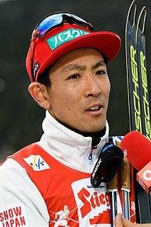Akito Watabe Japanese Nordic combined skier