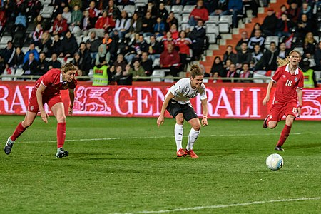 20180405 FIFA Women's World Cup Qualification AUT-SRB Nina Burger 850 6795.jpg