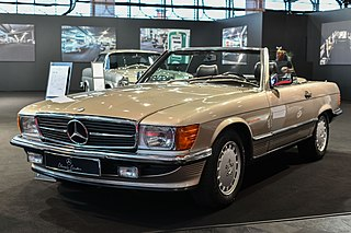 Mercedes-Benz R107 and C107 Mercedes-Benz from 1971 through 1989