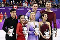 2018 Winter Olympics Pairs Podium.jpg