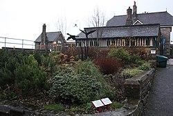 2018 at Grange-over-Sands station - garden.JPG