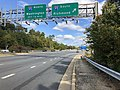 2019-10-17 12 53 40 View east along Virginia State Route 294 (Prince William Parkway) at the exit for Interstate 95 SOUTH (Richmond) in Potomac Mills, Prince William County, Virginia.jpg
