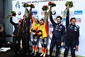 2020-03-01 Flower Ceremony Skeleton Mixed Team competition (Bobsleigh & Skeleton World Championships Altenberg 2020) by Sandro Halank–020.jpg