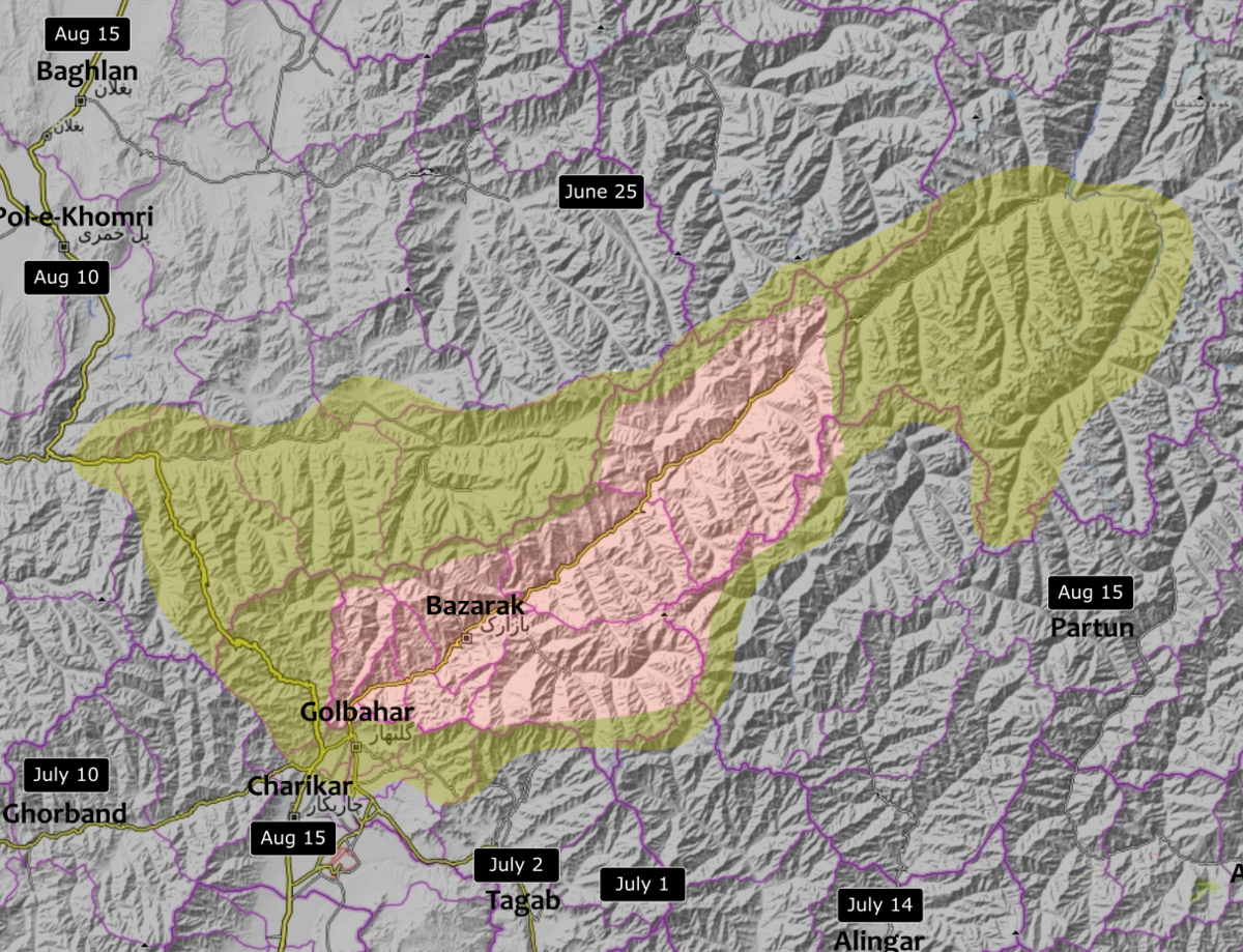 The Panjshir conflict[citation needed ] is a political dispute between the Islamic Republic of Afghanistan and the Islamic Emirate of Afghanis