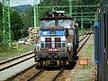 210 039 4 in Vyssi Brod Klaster station.jpg