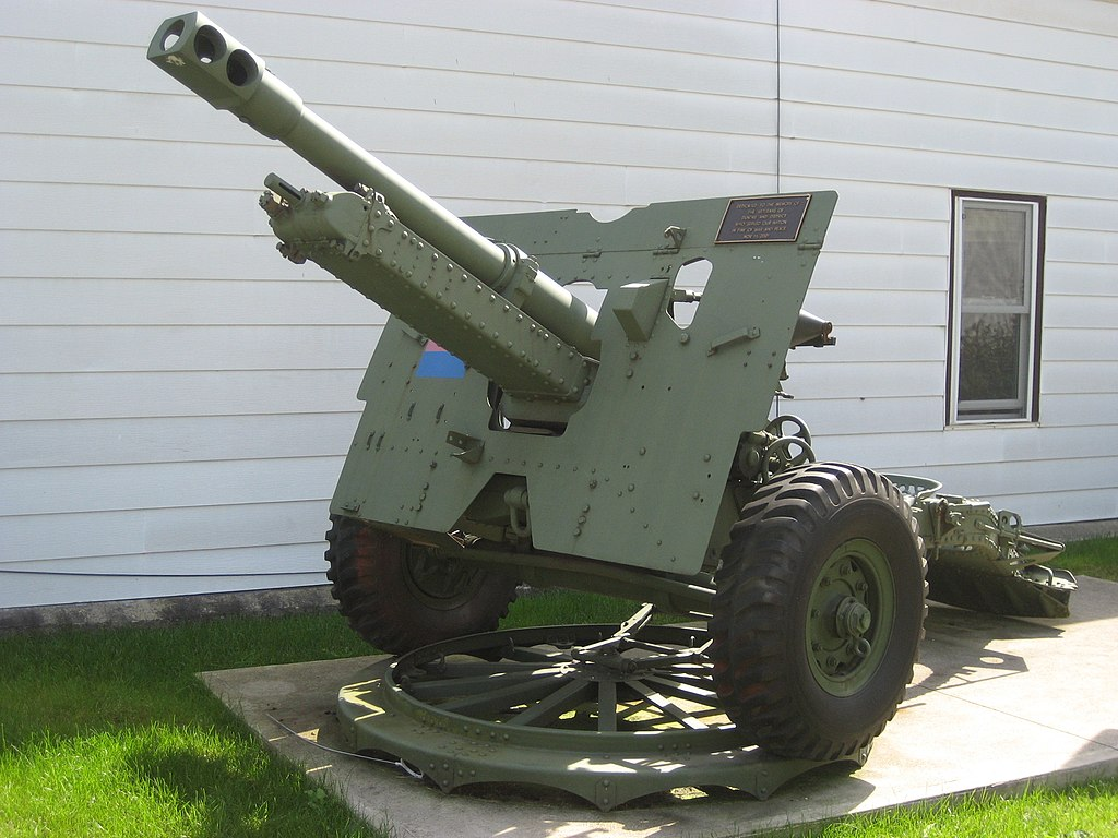photo of Ordnance Q.F. 25pdr Mk 2 from 25pdr from Wikipedia