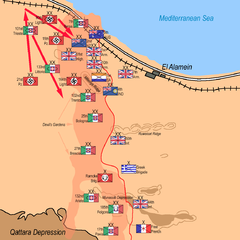 Rommel redeploys forces: 29 October