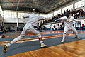 2nd Leonidas Pirgos Fencing Tournament. 8th parry by the fencer Nikos Xynos.jpg