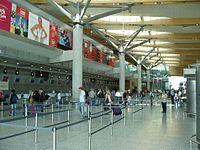 3.5 Check-in Halle. Jura Grau-blau. Irland. Cork Airport.JPG