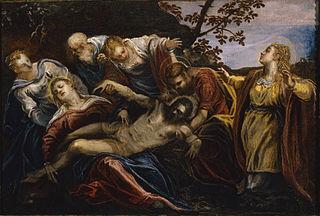 Lamentation sur le Chritst mort