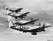 345th Fighter Squadron - P-47 Thunderbolts