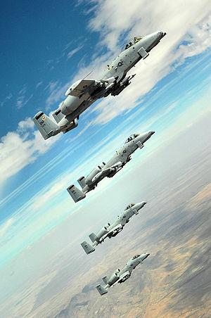 355th Operations Group - 355th Operations Group A-10 Thunderbolt IIs