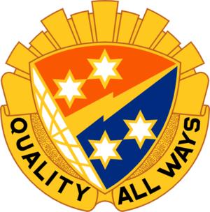 369th Signal Battalion (United States) - Image: 369 Sig Bn DUI