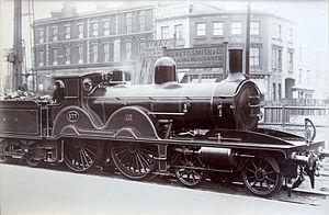 LSWR X2 class - LSWR X2 class locomotive no. 577
