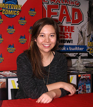 Fiona Staples - Staples at a signing at Midtown Comics in Manhattan