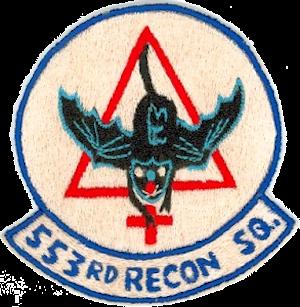 553d Reconnaissance Squadron - Emblem of the 553d Reconnaissance Squadron
