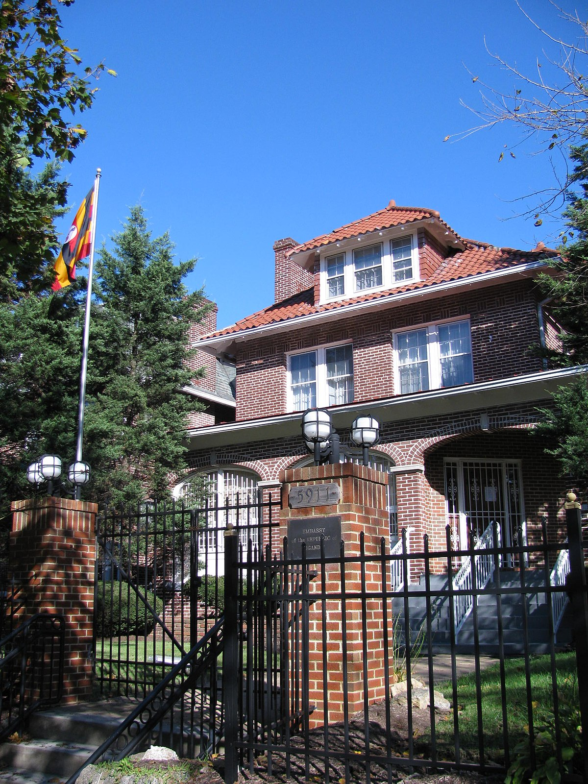 Embassy of Uganda, Washington, D C  - Wikipedia