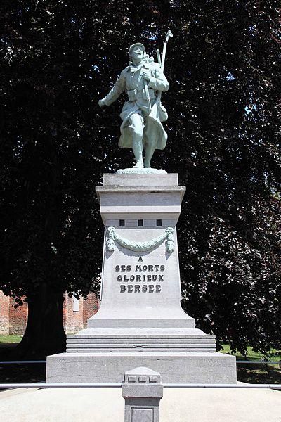 Monument aux Morts - Angle de la rue de l'Eglise et rue Saint-Nicolas, 59 Bersée