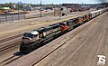 6-6 BNSF 9606 Leads WB Autorack Kansas City, KS 4-29-18.jpg