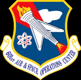 601st Air Operations Center - 601st Air Operations Center Emblem