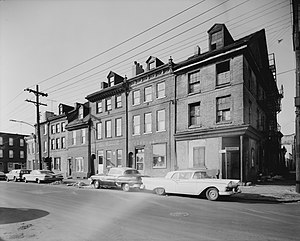 Queen Village, Philadelphia - Front and Bainbridge Streets, c. 1961