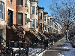 Streetscape in Bay Ridge