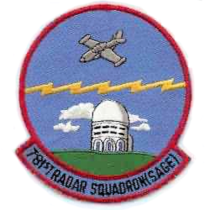 Custer Air Force Station - Emblem of the 781st Radar Squadron