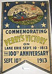 86-409-A Banner Commemorative 100th Anniversary Battle of Lake Erie (6082208815).jpg