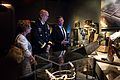 9-11 Memorial and Museum President and CEO Joseph C. Daniels, right, shows Chief of Staff of the U.S. Army Gen. Raymond T. Odierno, center, and Linda Odierno the Pentagon section of the 9-11 Museum during a tour 140904-A-NX535-041.jpg