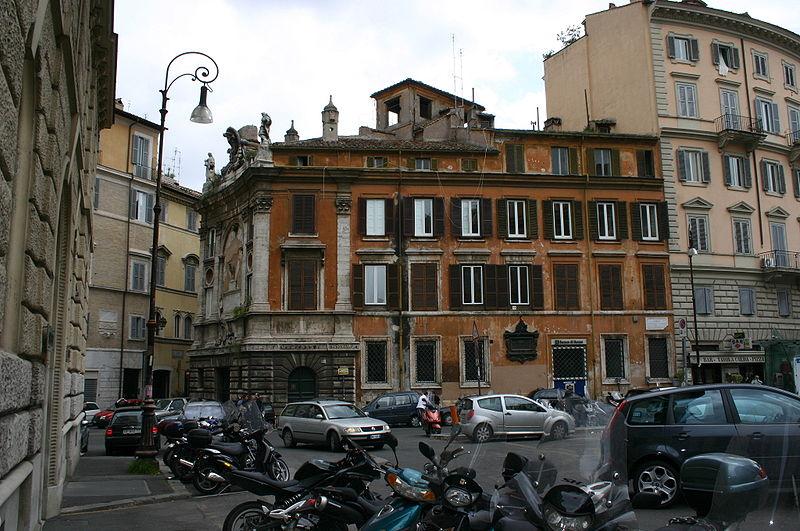 File:9791 - Roma - Zecca papale (sec. XVI) - Foto Giovanni Dall'Orto, 6-Apr-2008.jpg
