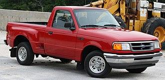 Ford Ranger - Image: 97Vermillion
