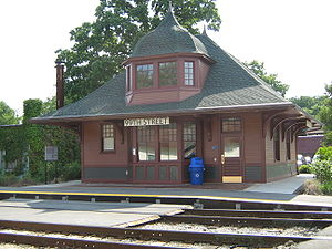 99th Street–Beverly Hills (Metra station) - Image: 99th Street Beverly Hills Metra Station
