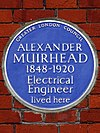 ALEXANDER MUIRHEAD 1848-1920 Electrical Engineer lived here.jpg