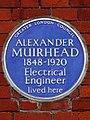 ALEXANDER MUIRHEAD 1848-1920 Electrical Engineer lived here.jpg