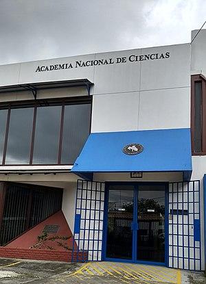 Academia Nacional de Ciencias (Costa Rica) - Image: ANC Headquarters in San Pedro