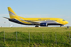 Boeing 737-300QC der ASL Airlines France