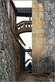 AURIAC-DU-PERIGORD (Dordogne) - Galerie aérienne reliant le presbytère à l'église.JPG
