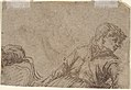 A Reclining Peasant (recto); Study of a Young Man (verso) MET DP801216.jpg