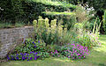 A flower bed Gibberd Garden Essex England 01.JPG