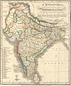 100px a language map of india prepared for the missionary projects at serampore%2c 1822