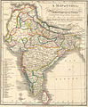 A language map of India prepared for the missionary projects at Serampore, 1822.jpg